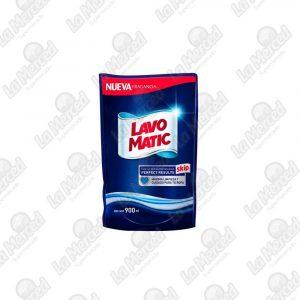DETERGENTE LIQ LAVO MATIC DOYPACK*900ML
