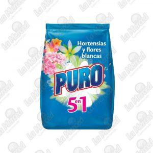 DETERGENTE PURO HORTENSIAS-FLORES*4000GR