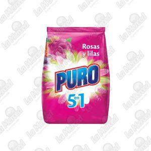 DETERGENTE PURO ROSAS-LILA*2000GR