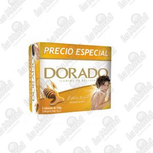 JABON DORADO AVENA-MIEL 125GR*3UND
