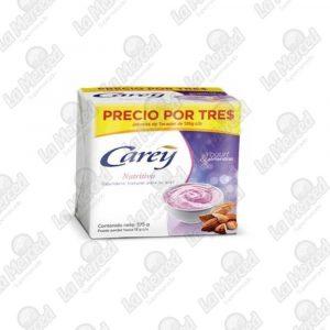 JABON CAREY NUTRITIVO 125GR*3UND