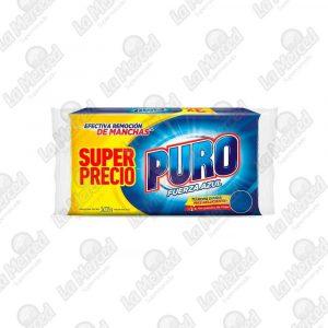 JABON PURO FUERZA AZUL 235GR*3UND