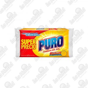 JABON PURO FUERZA DEL SOL*235GR*3UND