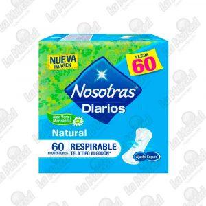 PROTECTORES NOSOTRAS DIARIOS RESPIRABLES*60UND