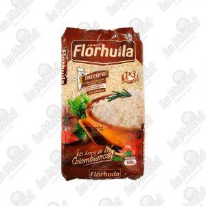 ARROZ FLORHUILA INTEGRAL*1000GR