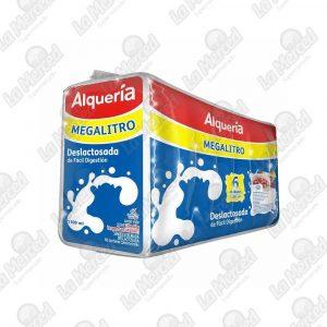 LECHE ALQUERIA DESLACTOSADA 1100ML*6UND