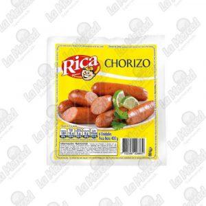 CHORIZO RICA 6UND*400GR