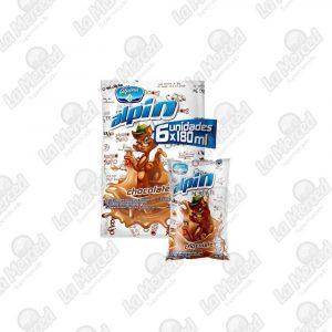 ALPIN CHOCOLATE BOLSA 180ML*6UND