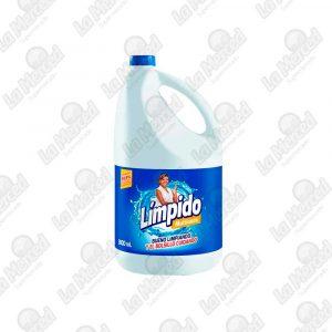 BLANQUEADOR LIMPIDO MULTIUSO*3800ML