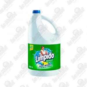 BLANQUEADOR LIMPIDO MULTIUSO LIMON*3800ML