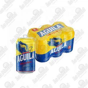 CERVEZA AGUILA ORIGINAL 355ML*6UND