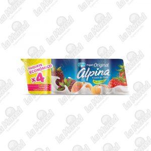 YOGURT ALPINA ORIGINAL SURTIDO*4UND