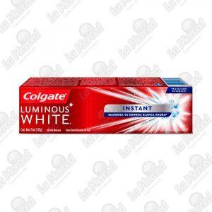 CREMA DENTAL COLGATE LUMINUOS WHITE INSTANT*75ML