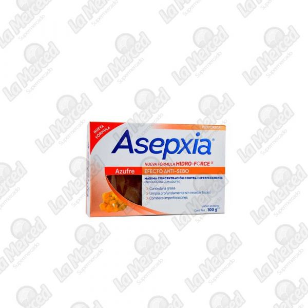 JABON ASEPXIA AZUFRE*100GR