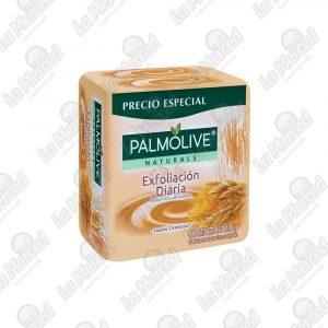 JABON PALMOLIVE EXFOLIACION DIARIA 120GR*3UND
