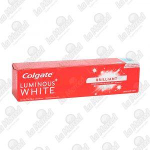 CREMA DENTAL COLGATE LUMINUOS WHITE BRILLANT*125ML