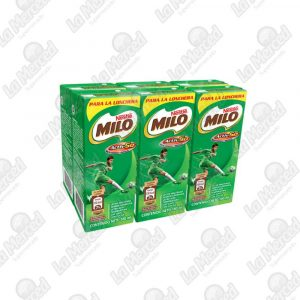 MILO ACTIV-GO TETRA 180ML PACK*6UND
