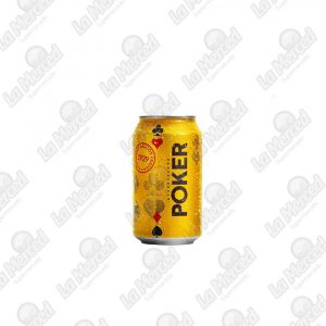 CERVEZA POKER*335ML