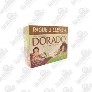 JABON DORADO COCO PEPINO-ALOE PG3 LL4UND