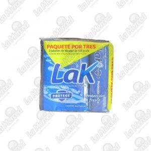 JABON LAK PROTECCION FRESCA*3UND*375G