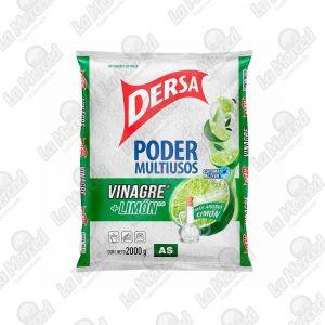 DETERGENTE DERSA AS MULTIUSO VINAGRE+LIMON*2000GR