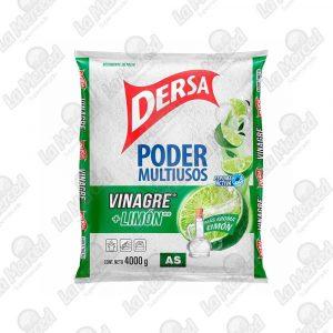 DETERGENTE DERSA AS MULTIUSO VINAGRE+LIMON*4000GR