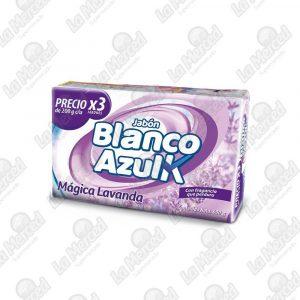 JABON BLANCO AZULK MAGICA LAVANDA*200GR*3UND