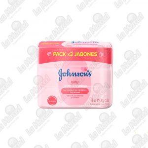 JABON JOHNSON'S BABY HUMECTANTE*110GR*3UND