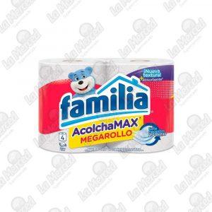 PAPEL HIGIENICO FAMILIA ACOLCHAMAX*4UND