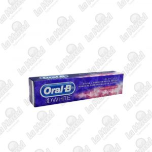 CREMA DENTAL ORAL-B 3D WHITE BRILLANT FRESH*53ML
