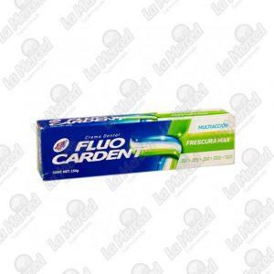 CREMA DENTAL FLUO CARDENT FRESCURA MAX*134GR