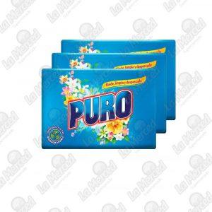 JABON PURO HORTENCIAS-FLORES BLANCAS*180GR*3UND